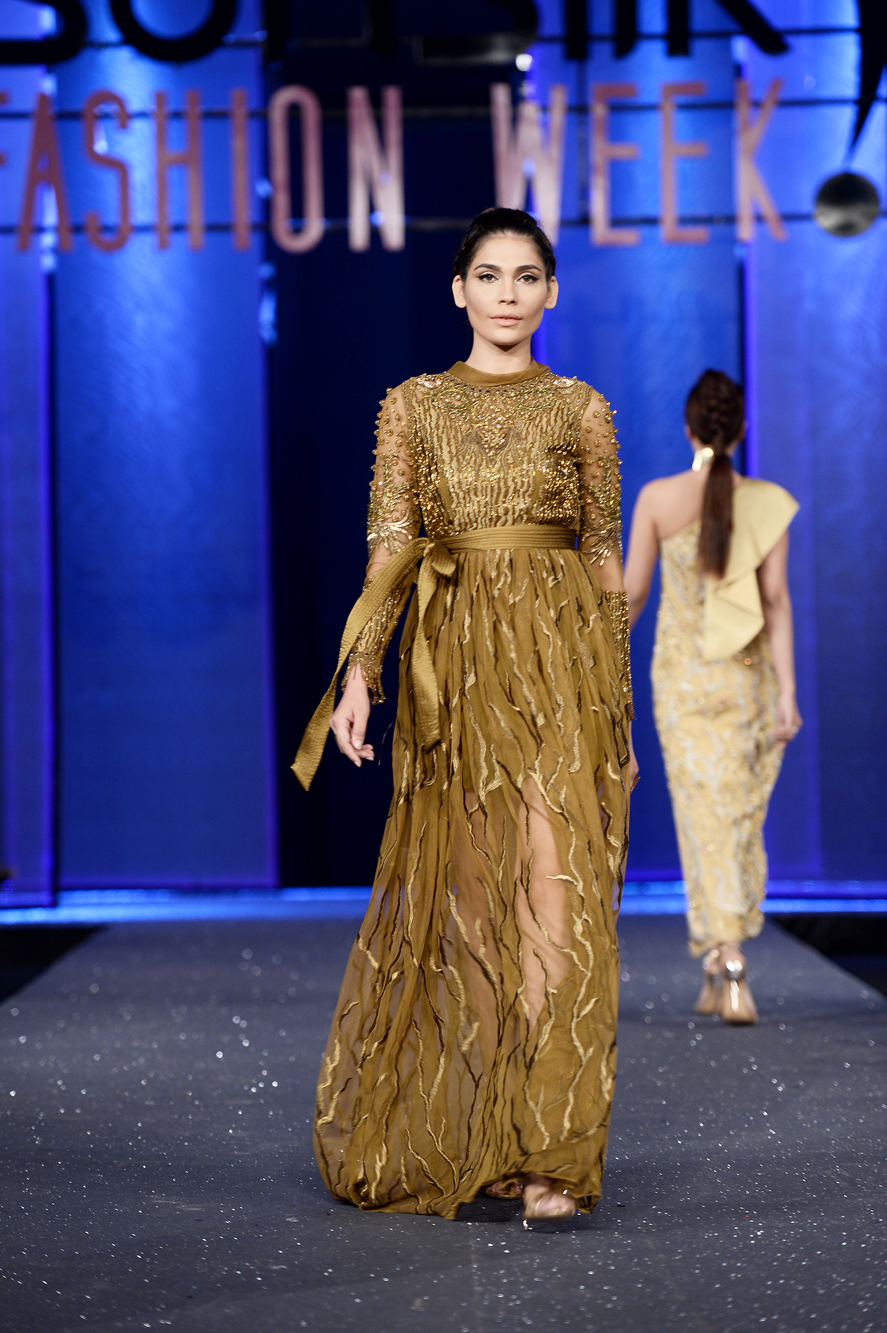 Tena Durrani - PFDC Sunsilk Fashion Week 2017, Photography: Faisal Farooqui and his team at Dragonfly