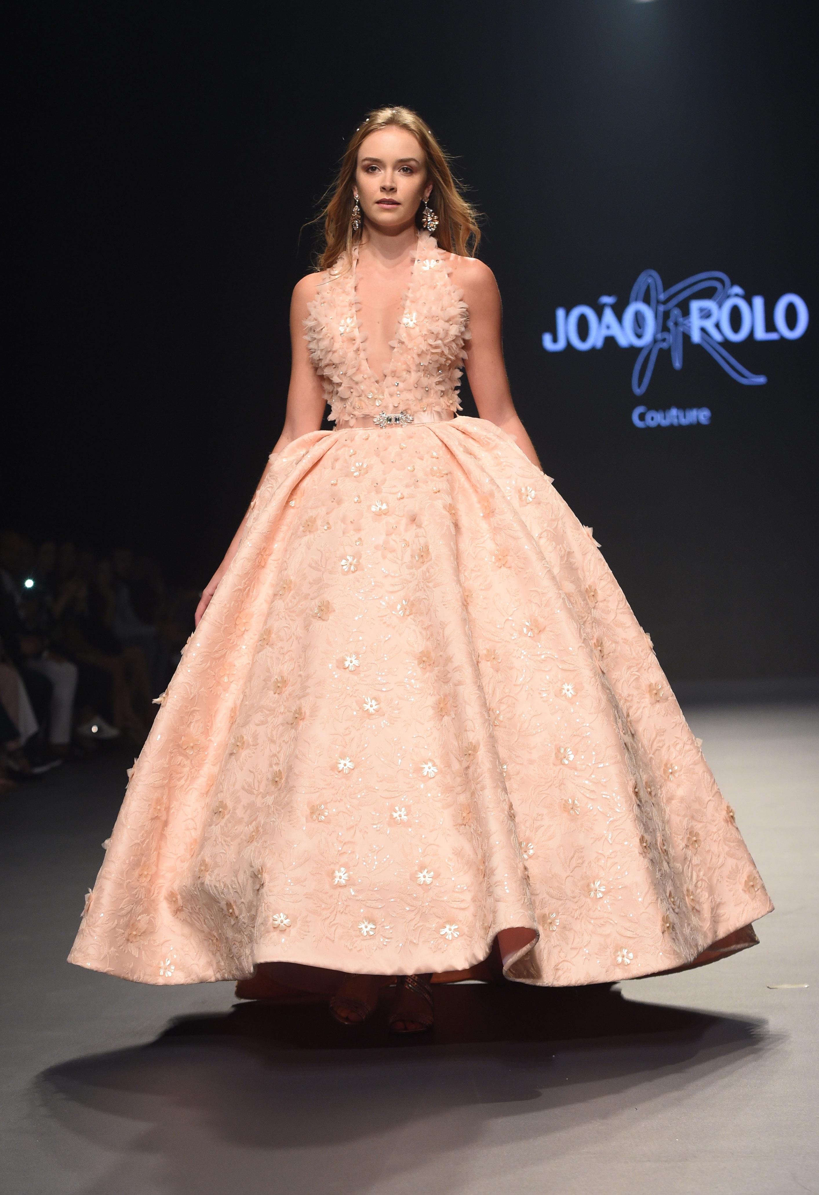 Joao Rolo International - Fashion Forward Dubai Season 10, October 2017 - Photography by Stuart C. Wilson, Getty Images