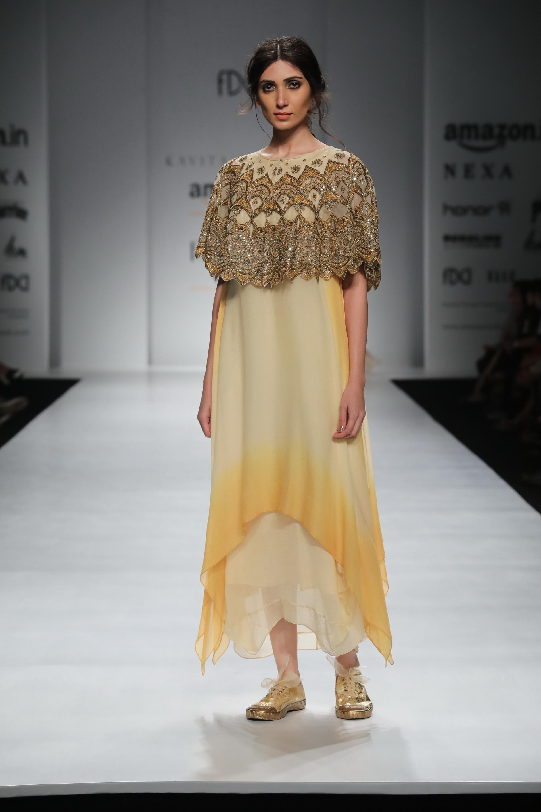 Kavita Bhartia - Amazon India Fashion Week Spring Summer 2018 - FDCI