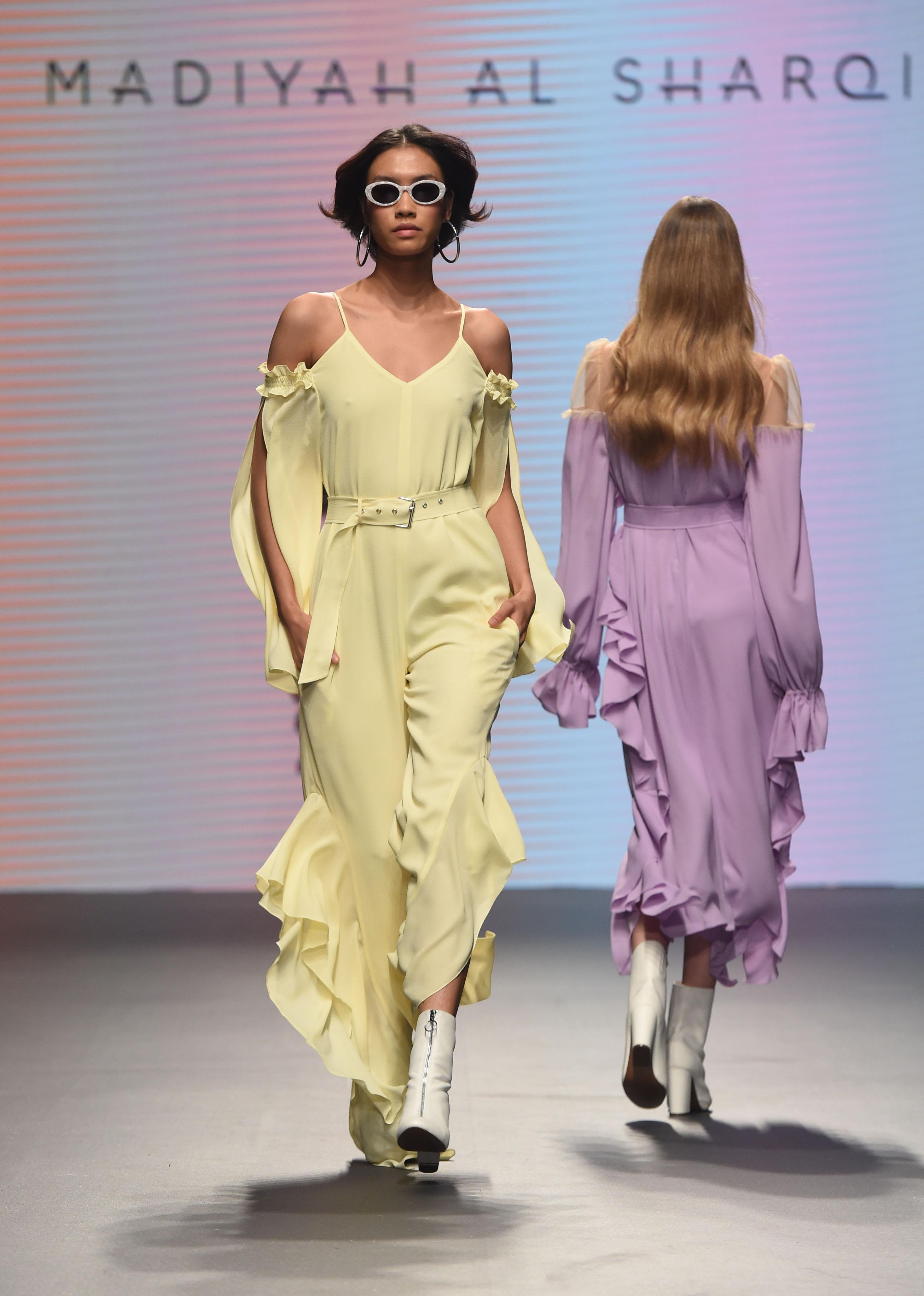 Madiyah Al Sharqi - Fashion Forward Dubai Season 10, October 2017 - Photography by Getty Images