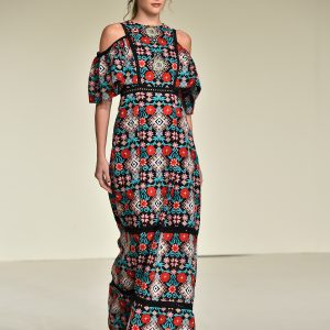 Sara Altwaim - Fashion Forward Dubai Season 10, October 2017 - Photography by Cedric Ribeiro, Getty Images