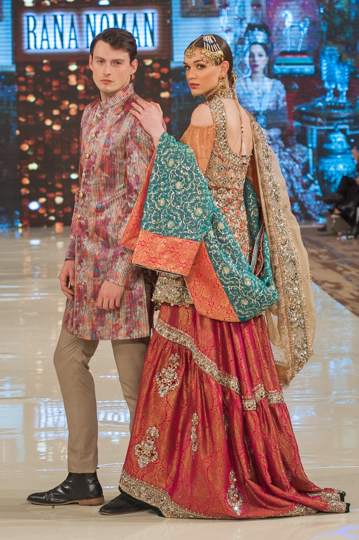 Rana Noman - Pakistan Fashion Week London - Photography by Shahid Malik