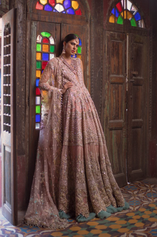 Saira Shakira Bridal Couture 2018 - Photography by Abdullah Haris