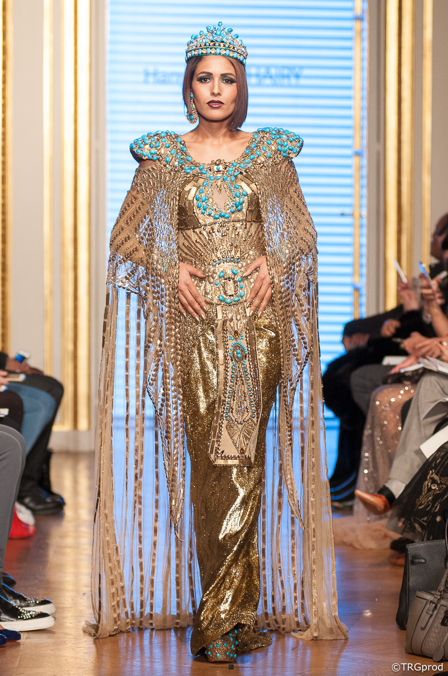 Hany El Behairy (Egypt) - Oriental Fashion Show Paris 2018 - David Tergemina - TRG prod