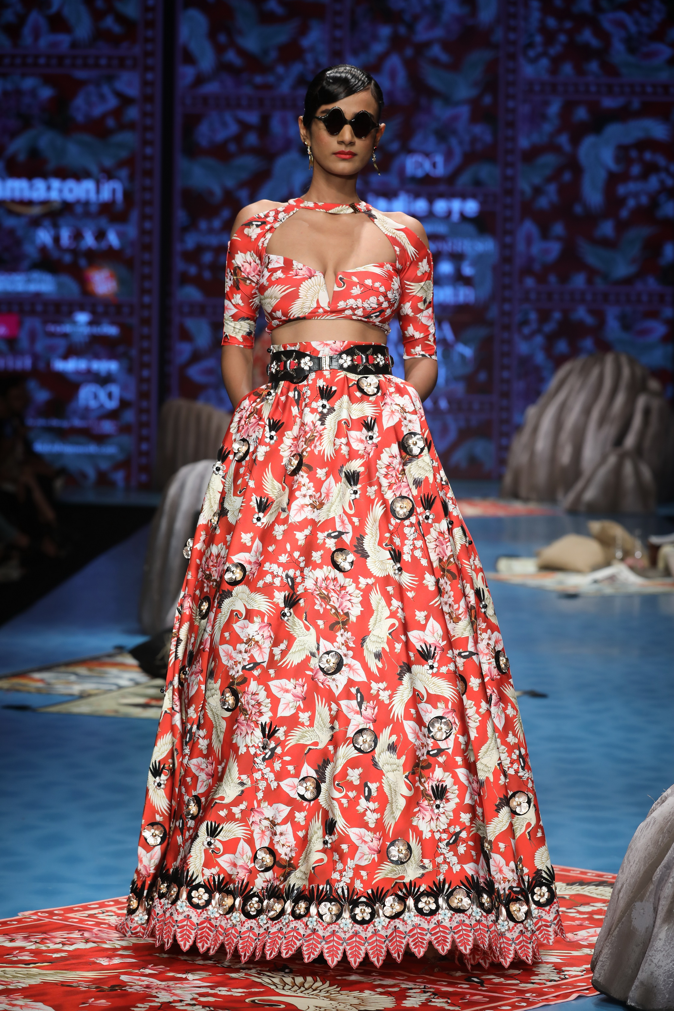 Indie Eye Presents Collection by Shivan & Narresh at FDCI Amazon India Fashion Week Autumn Winter 2018