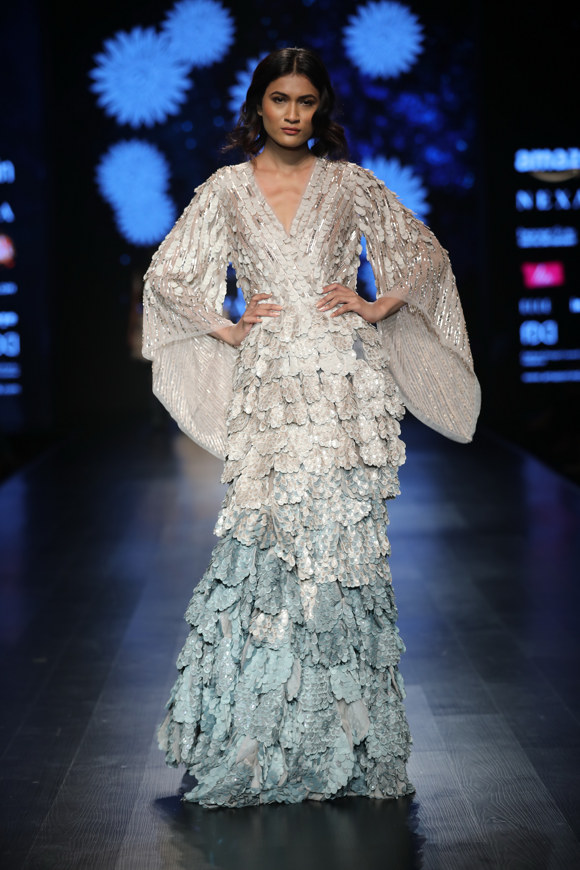 Not So Serious by Pallavi Mohan at FDCI Amazon India Fashion Week Autumn Winter 2018