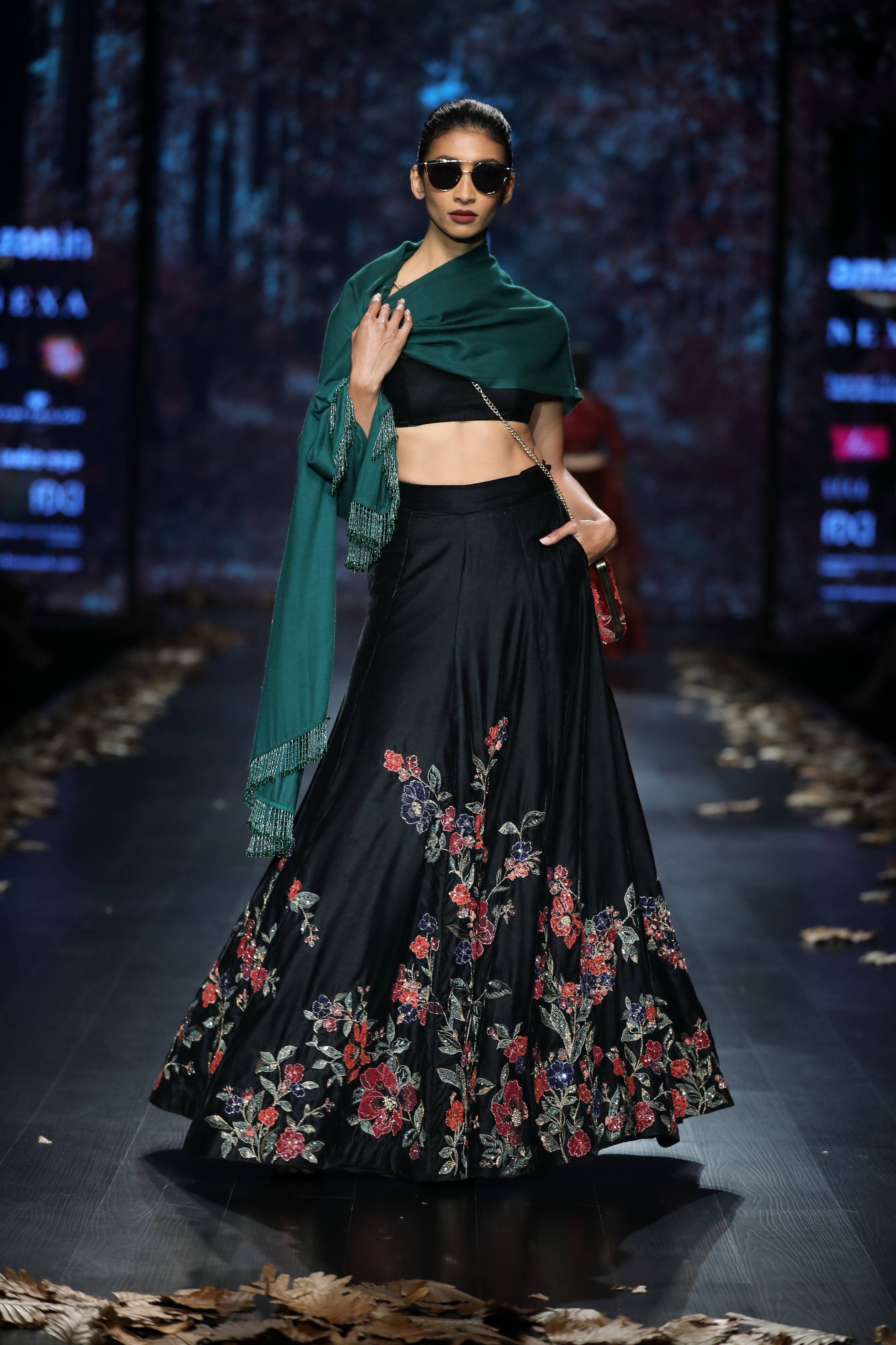 Shyamal and Bhumika at FDCI Amazon India Fashion Week Autumn Winter 2018