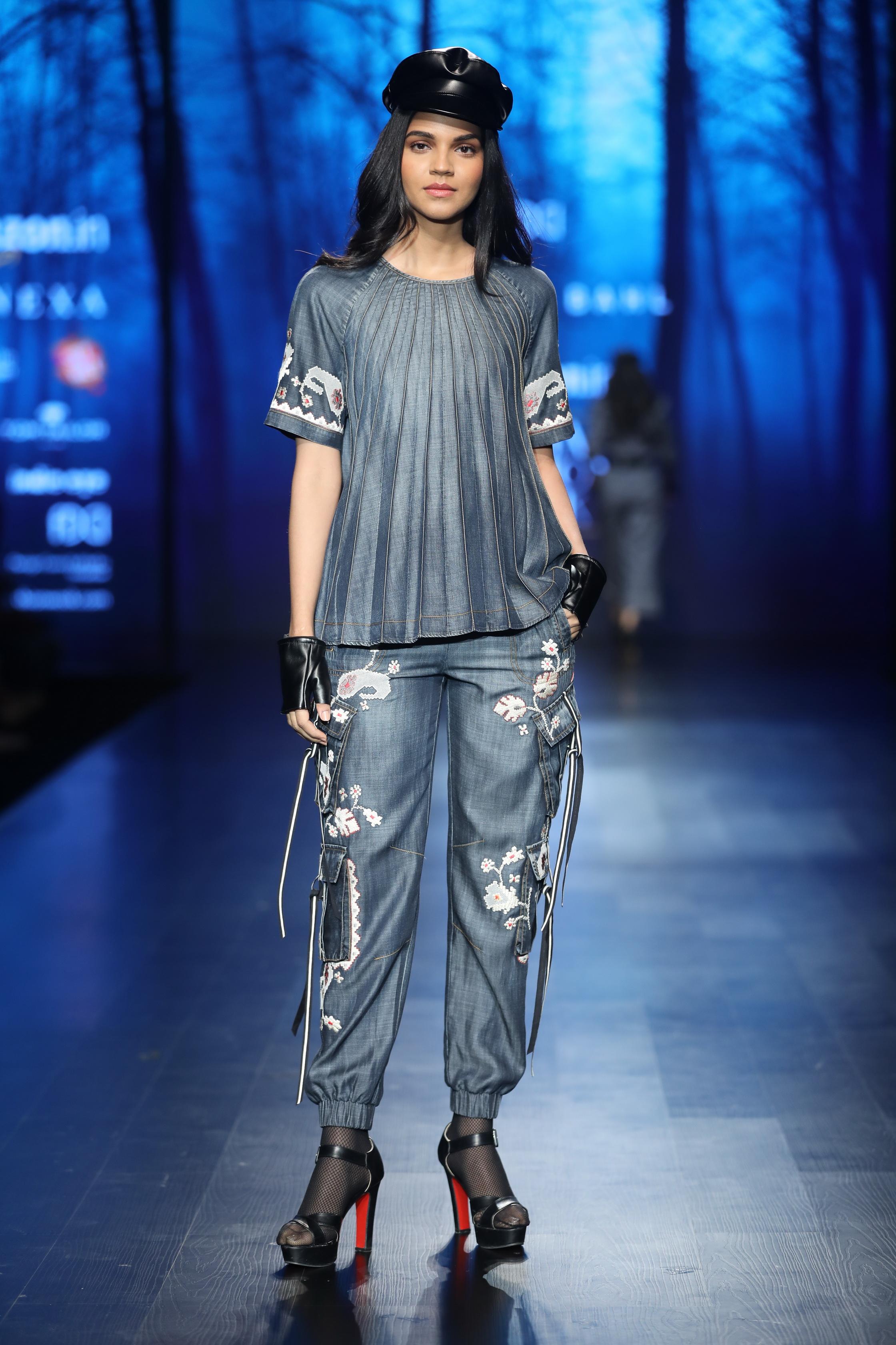 Vineet Bahl at FDCI Amazon India Fashion Week Autumn Winter 2018
