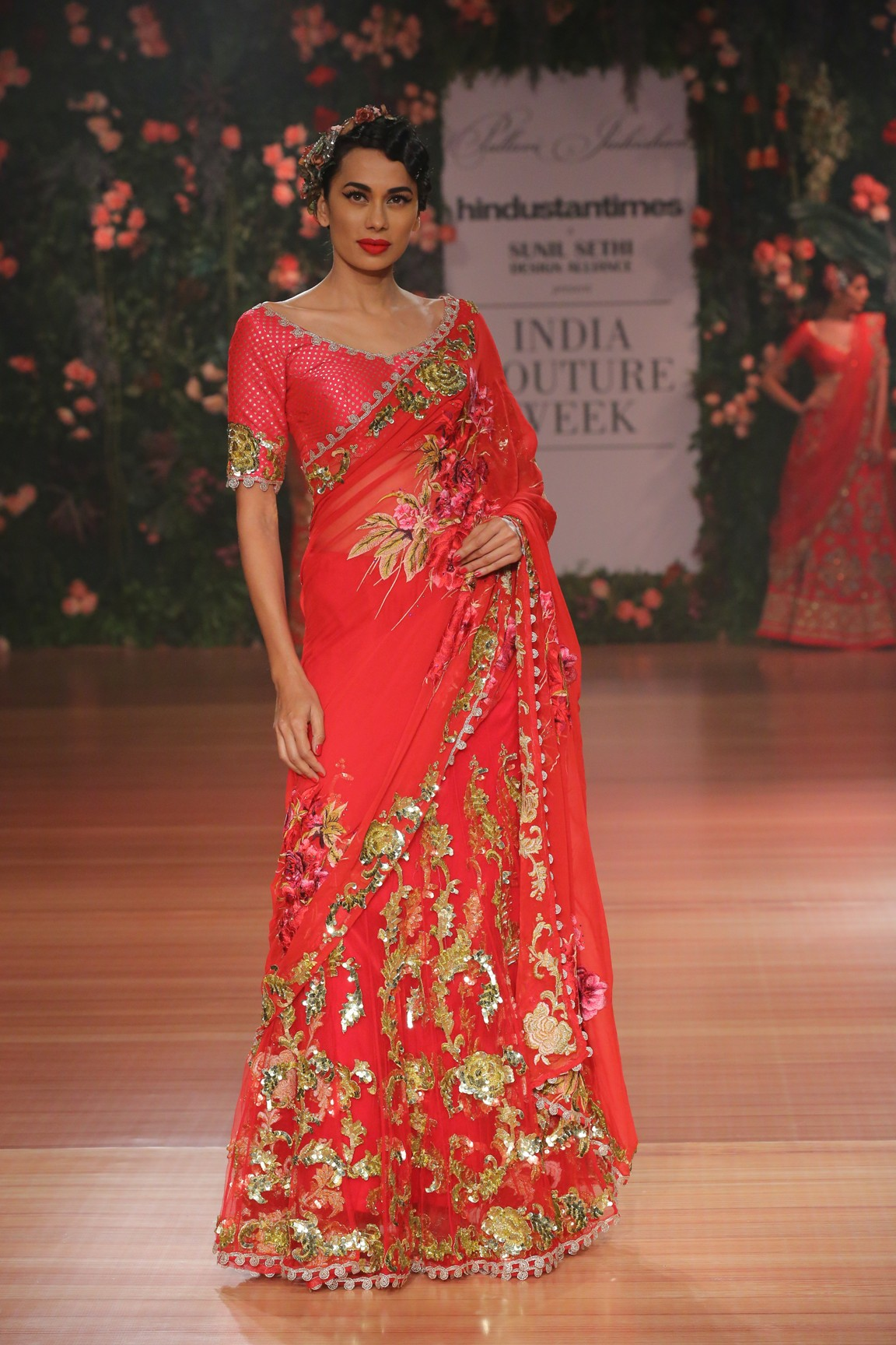 'Nostalgia' by Pallavi Jaikishan at FDCI India Couture Week 2018