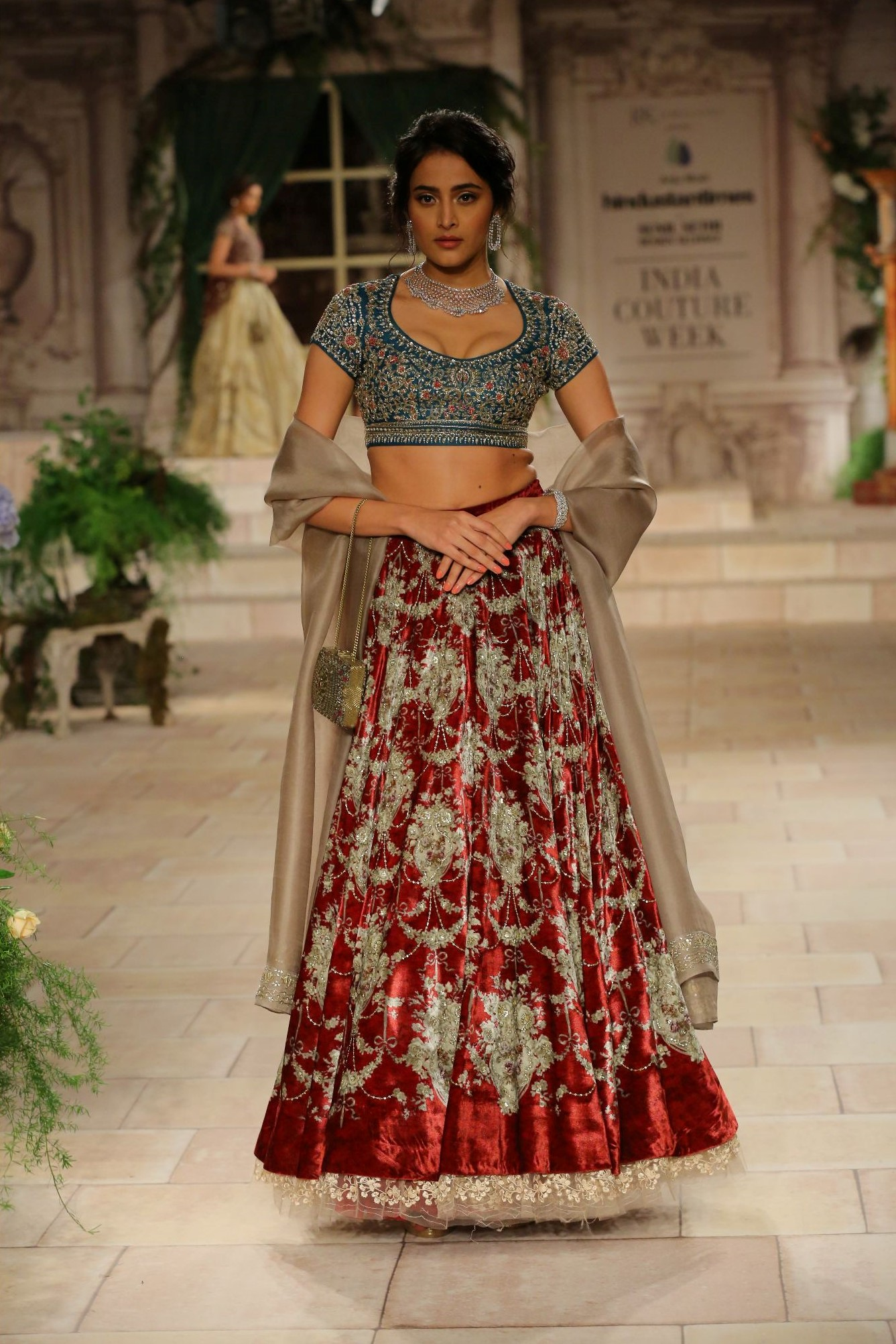 A MAIDEN'S PRAYER Showcased by Designer Anju Modi at FDCI India Couture Week 2018