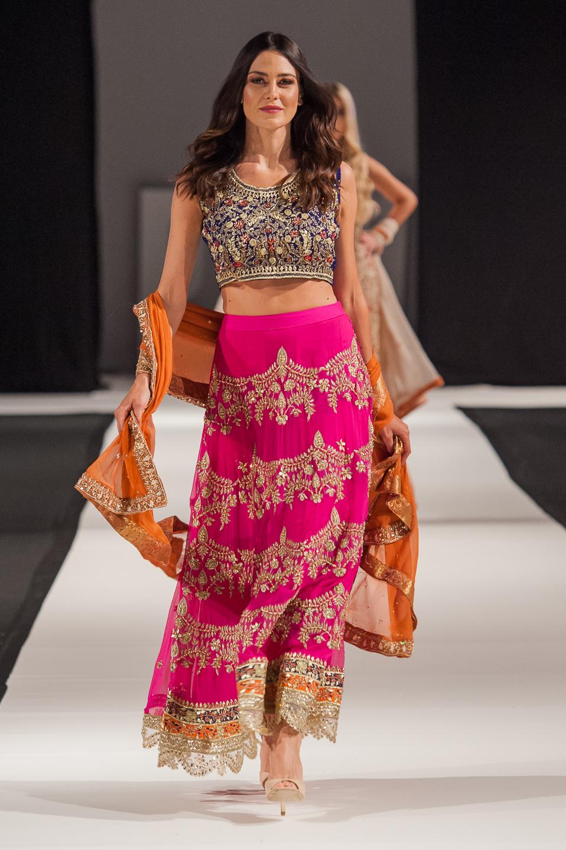 Attire by Bushra Wahid - Pakistan Fashion Week London - Photography by Shahid Malik