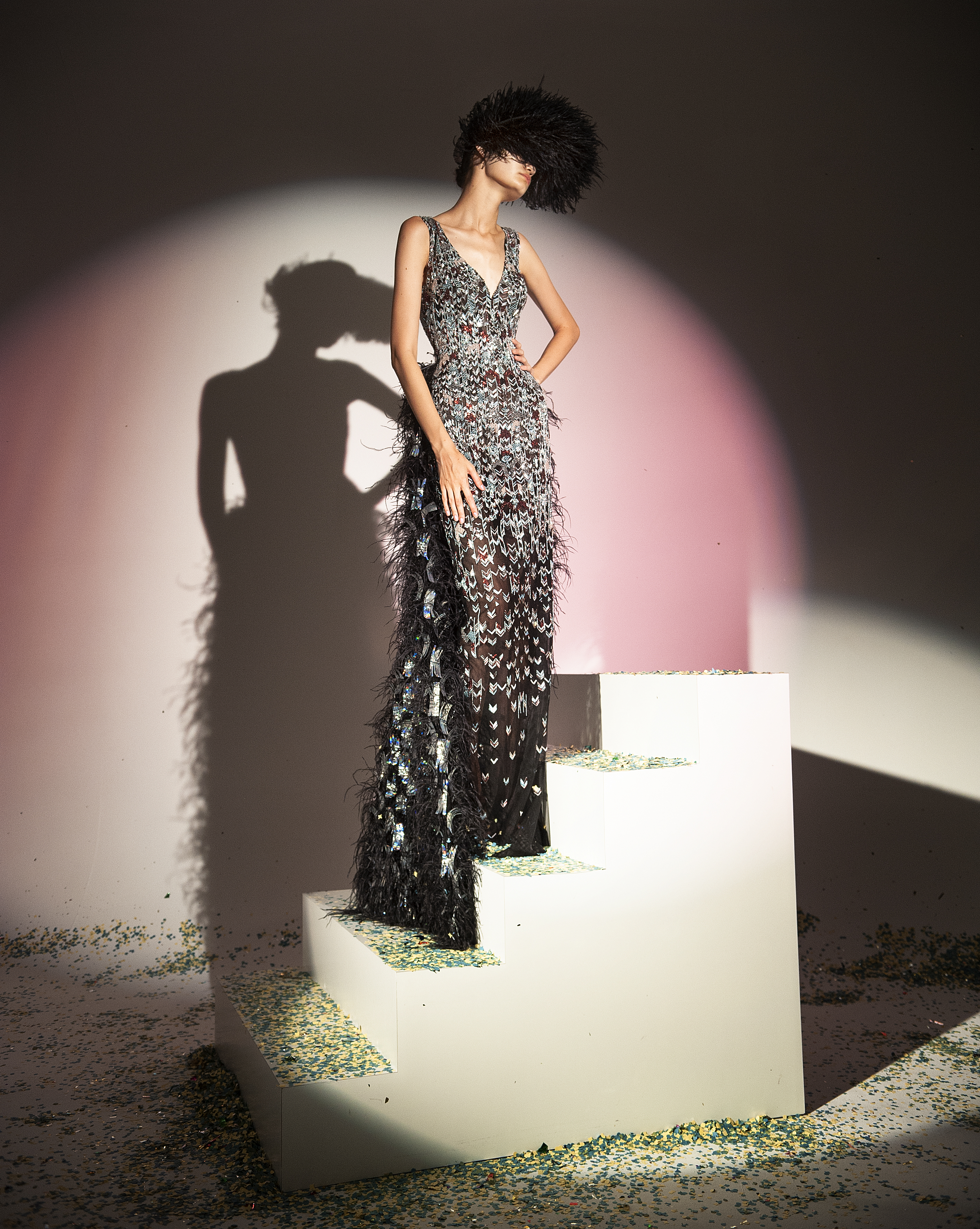 Rami Kadi Couture Collection Ometeo - Fall Winter 2018/19
