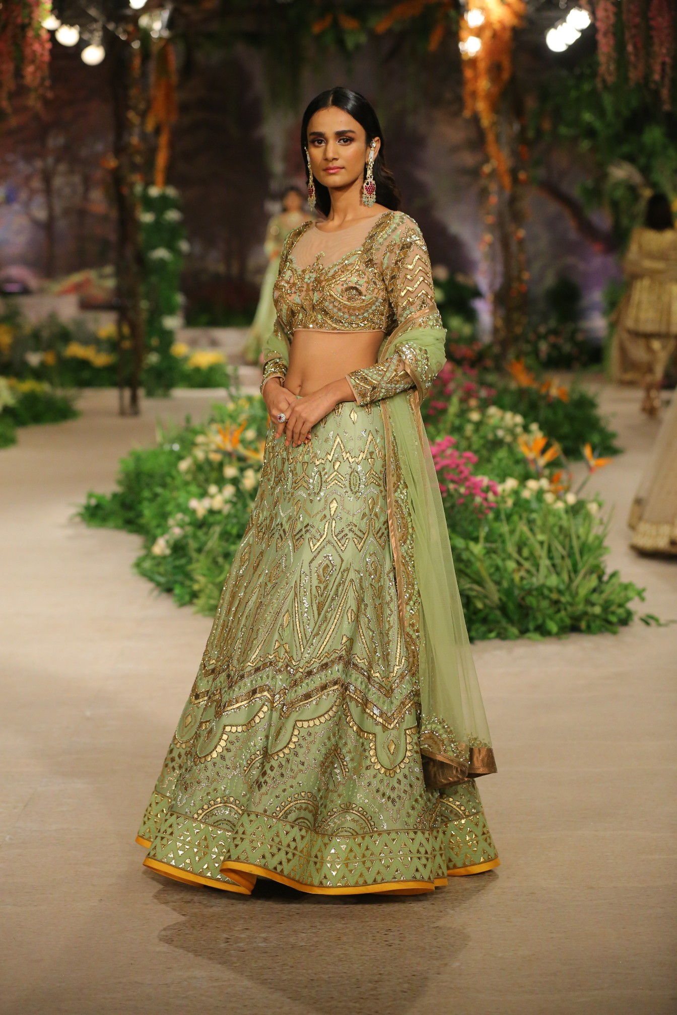 Once Upon A Dream by Designer Reynu Taandon at FDCI India Couture Week 2018