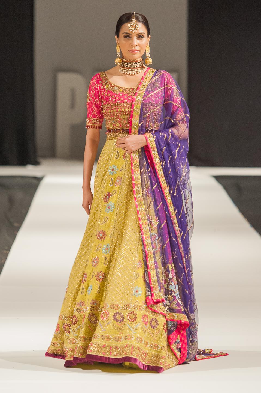 Sheeba Kapadia - Pakistan Fashion Week London - Photography by Shahid Malik