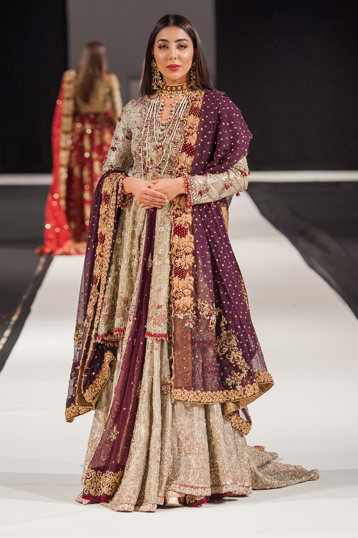 Umsha by Uzma Babar - Pakistan Fashion Week London - Photography by Shahid Malik