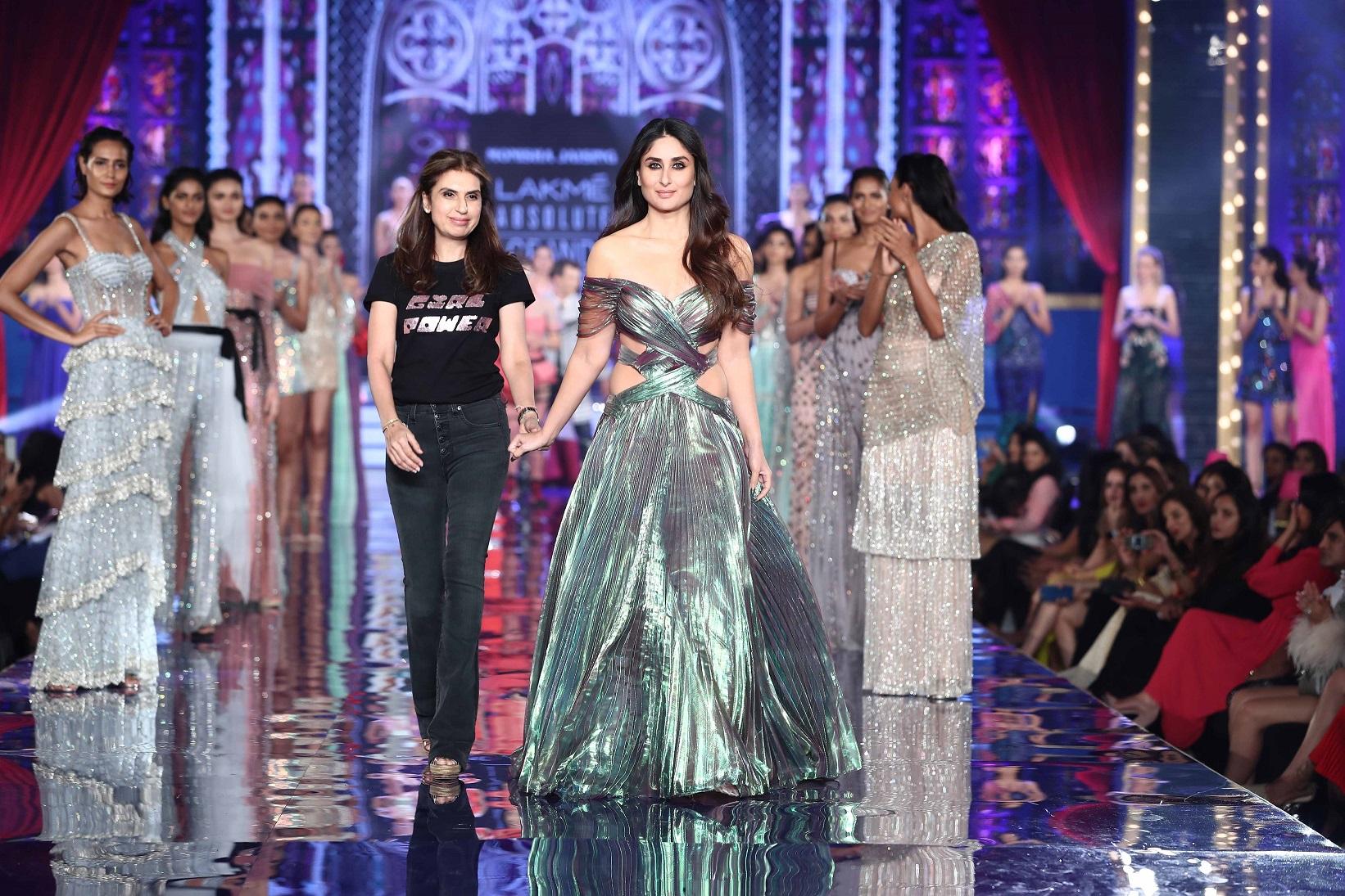 Monisha Jaising and Kareena Kapoor Khan at Lakme Absolute Grand Finale- Lakme Fashion Week Winter Festive 2018