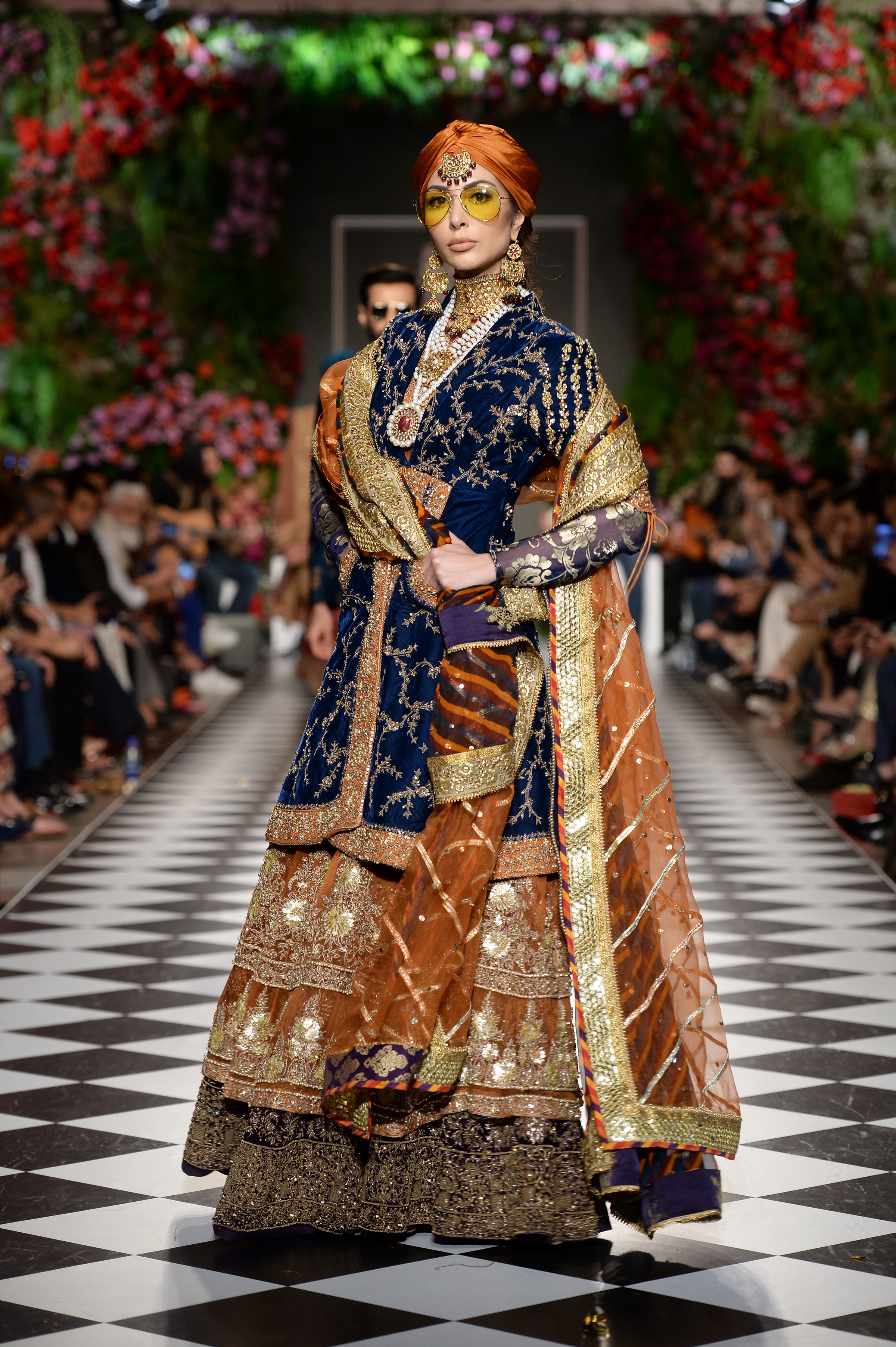 HSY - PFDC L'Oréal Paris Bridal Week 2018 - Photography by Faisal Farooqui and his team at DragonFly
