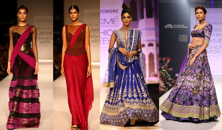 Amit Aggarwal (2), Anita Dongre, Arpita Mehta - Lakmé Fashion Week