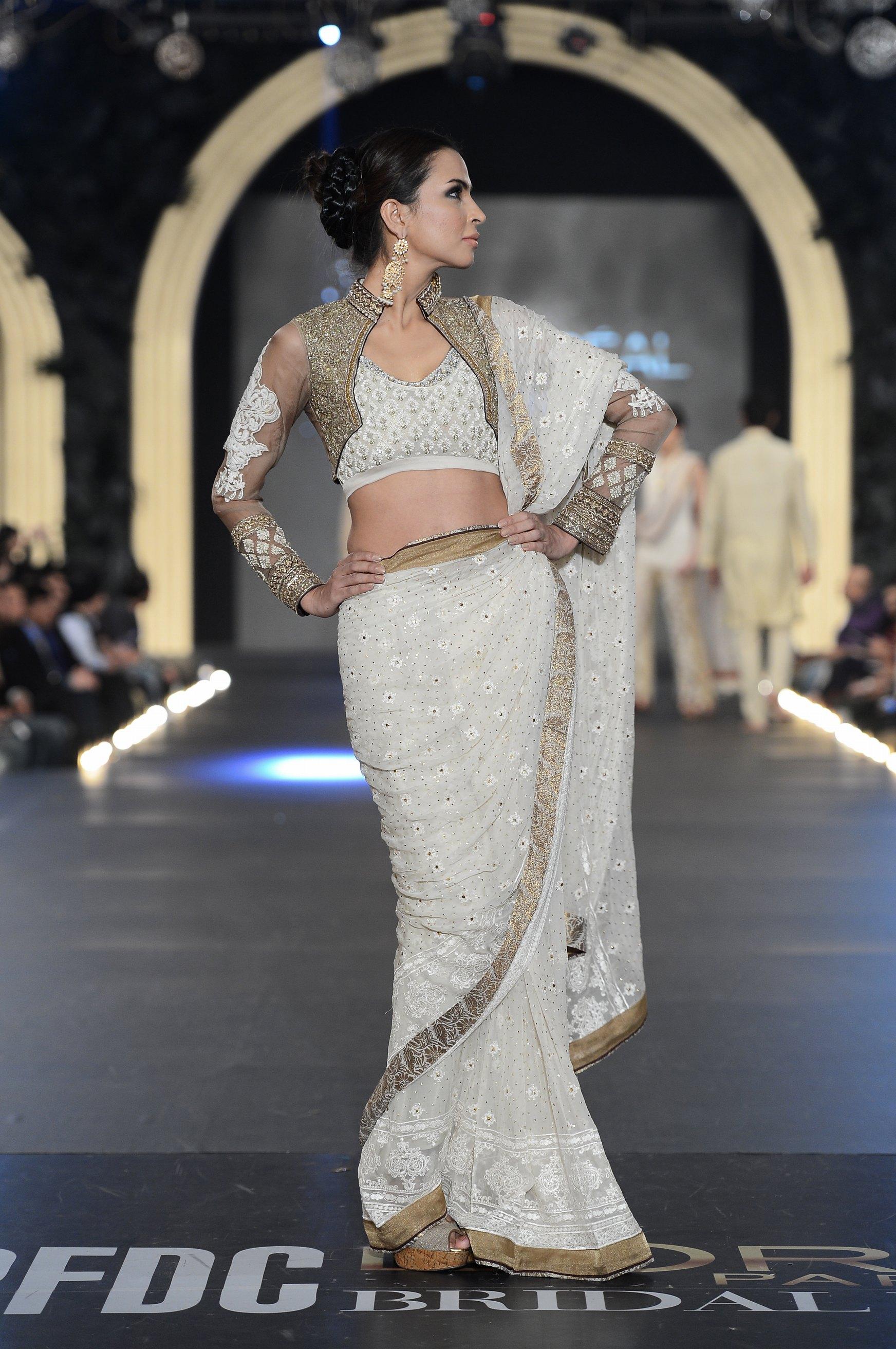 Asifa Nabeel The Pfdc L Oreal Paris Bridal Fashion Week The Fashion Orientalist