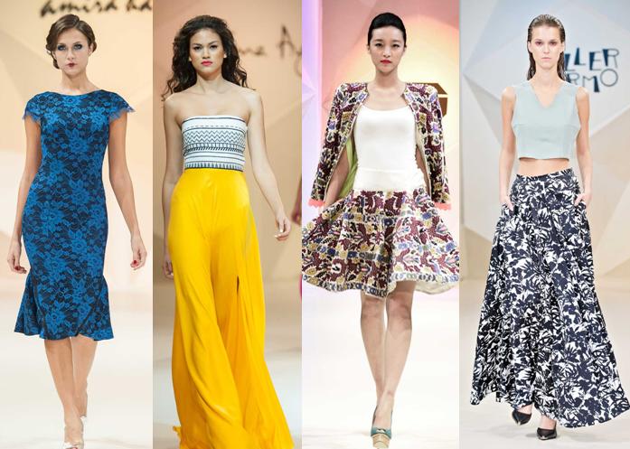 Amira Haroon, Dima Ayad, Tahir Sultan, Taller Marmo - Fashion Forward Dubai Season 2