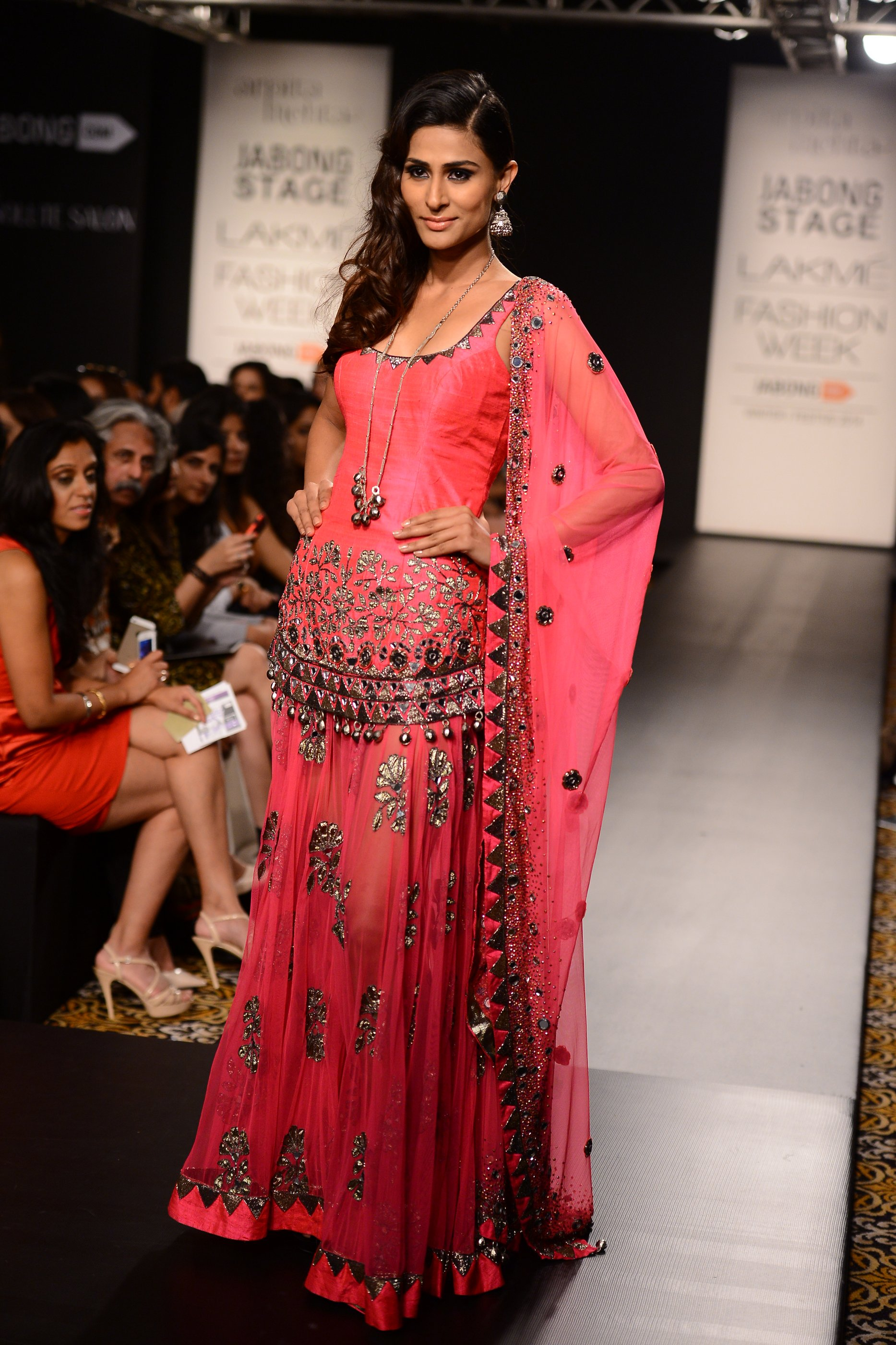 "Arpita Mehta's ""STARLIGHT"" at the Winter Festive Lakme Fashion Week 2014"