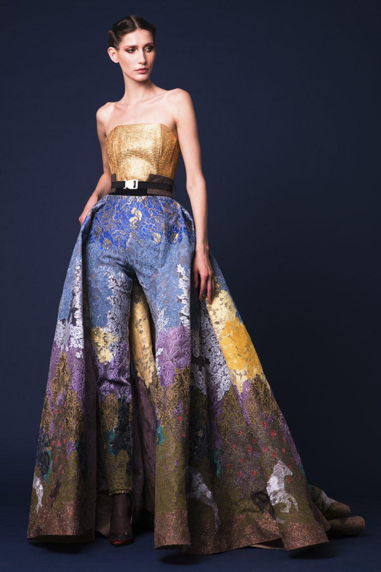 Orientalist Fashion Hussein Bazaza Fall Wi...