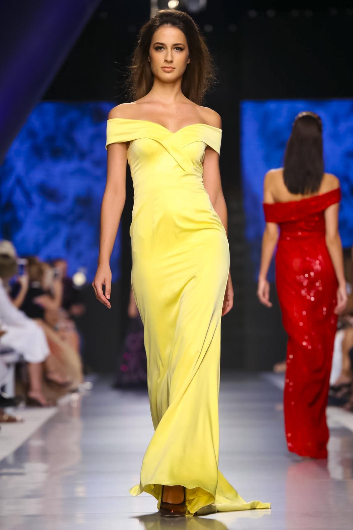 Arab Fashion Week - AIISHA Resort 2018 Collection L'Azur