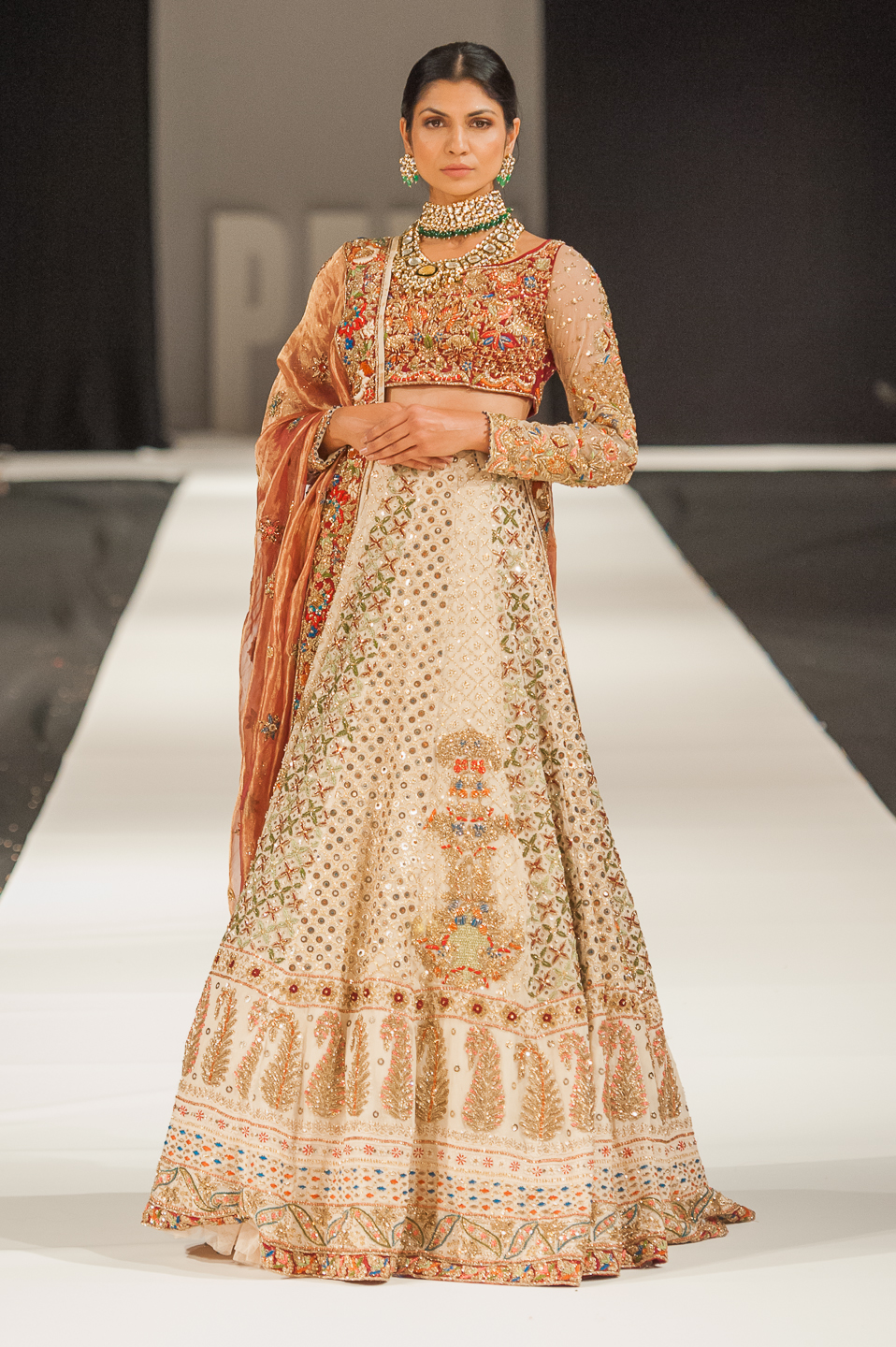 Sheeba Kapadia - Pakistan Fashion Week London - Photography by Shahid Malik